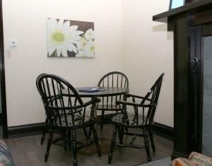 Twin Fern Livingroom Area