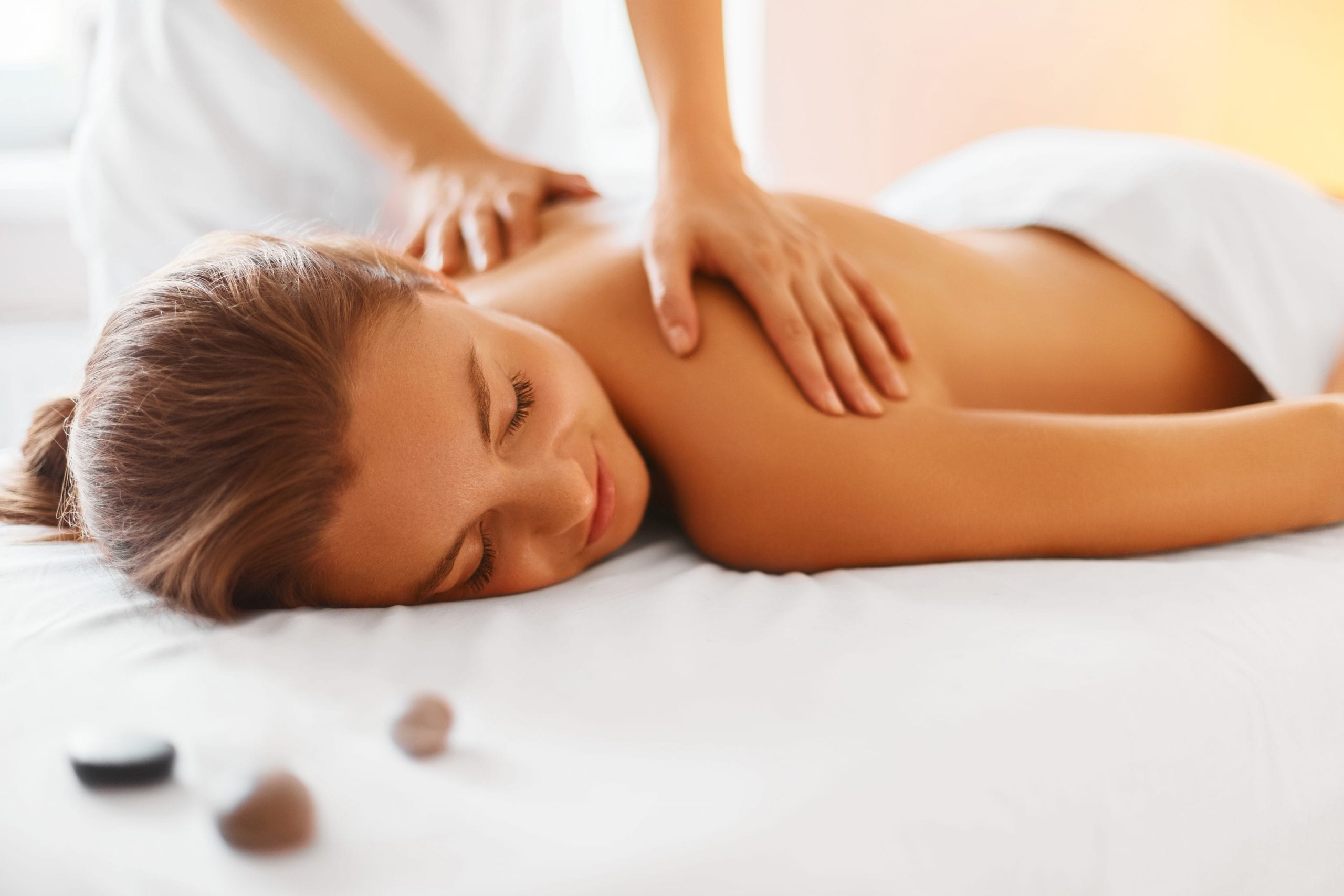 Relaxing massage at The Spa at Fern