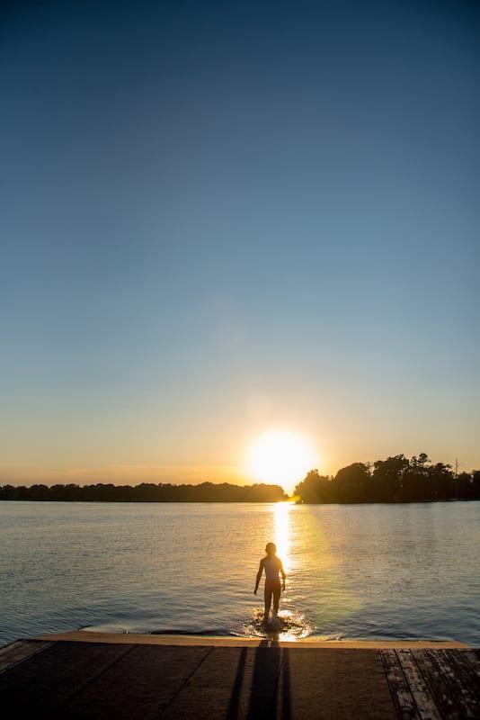 Sunset at Fern Resort
