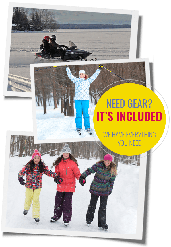 winter activities at Fern