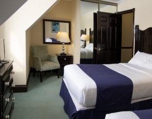 Twin Fern Bedroom - 2 Doubles